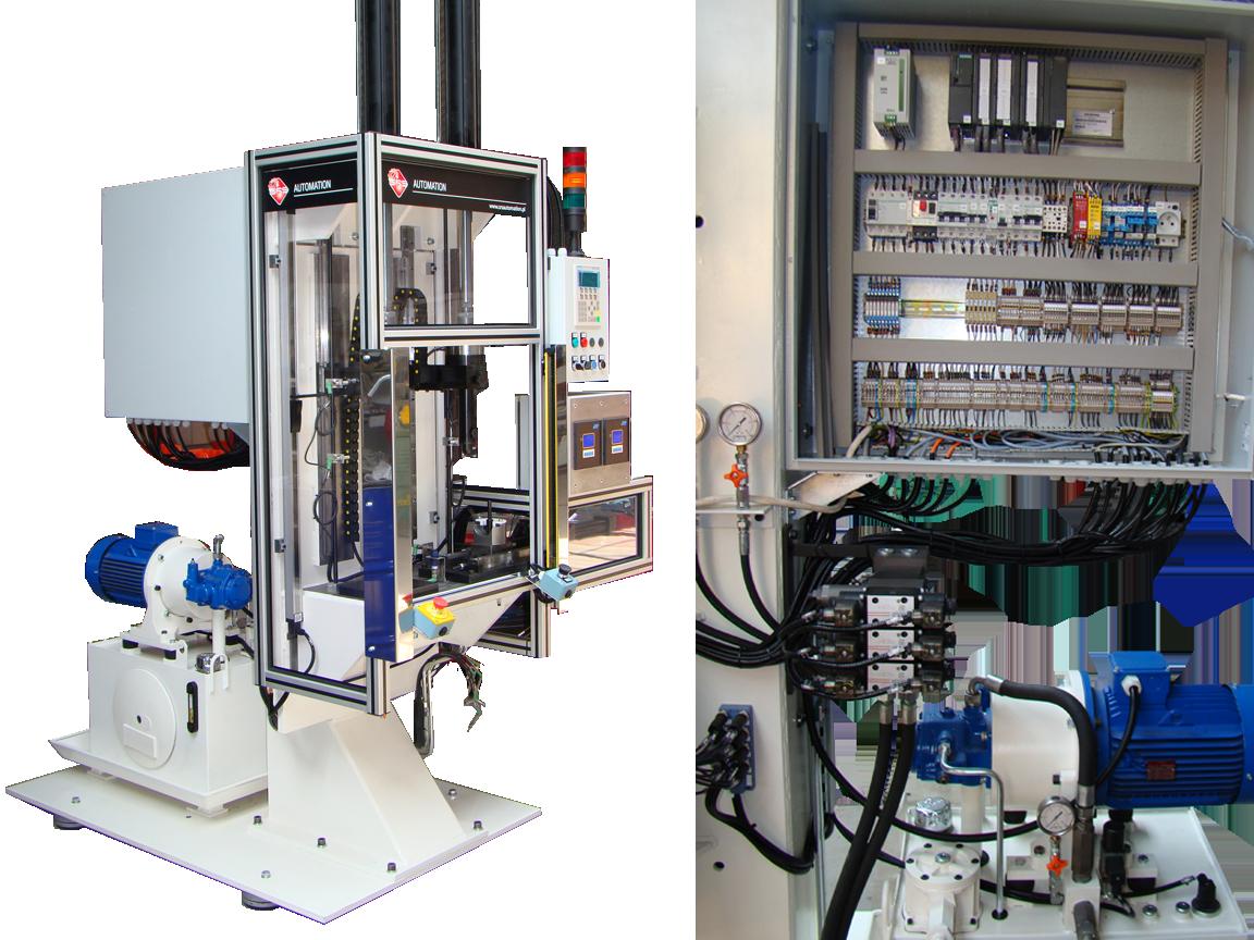 Automatyczna maszyna do nabijania tulejek amortyzatora