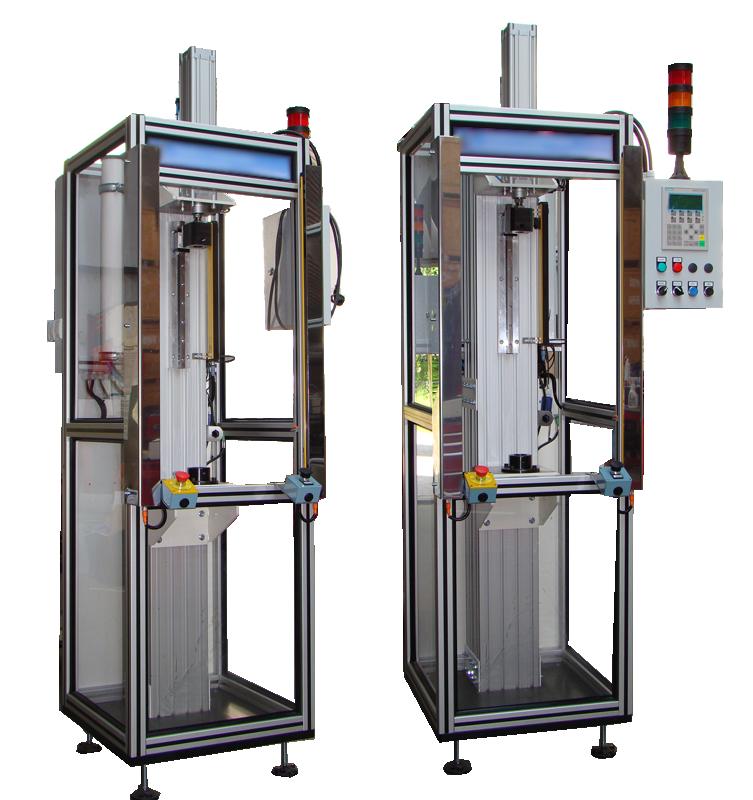 Maszyna automatyczna do montazu osłony amortyzatora