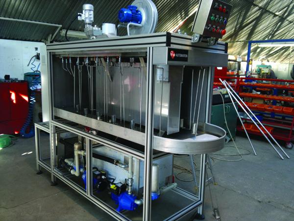 Stanowisko do mycia korpusów amortyzatorów seria LindSof 1000